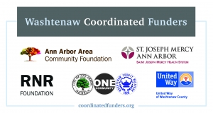 Washtenaw Coordinated Funders with various business logos