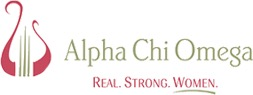 Alpha Chi Omega logo real strong women