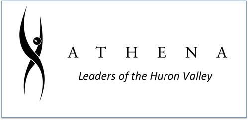 ATHENA logo - Leaders of the Huron Valley